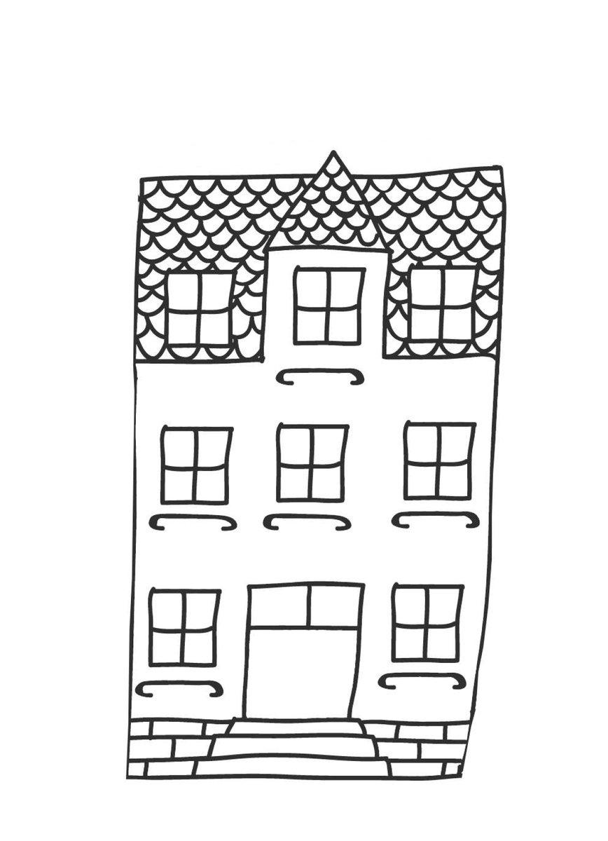 Bastelvorlagen Weihnachten Haus Basteln Vorlage 7