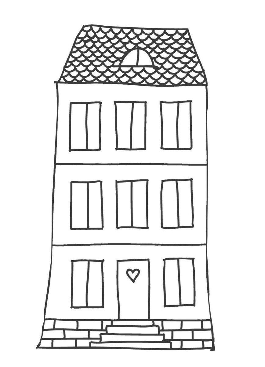 Haus Aus Papier Basteln Vorlagen Dekoking 3