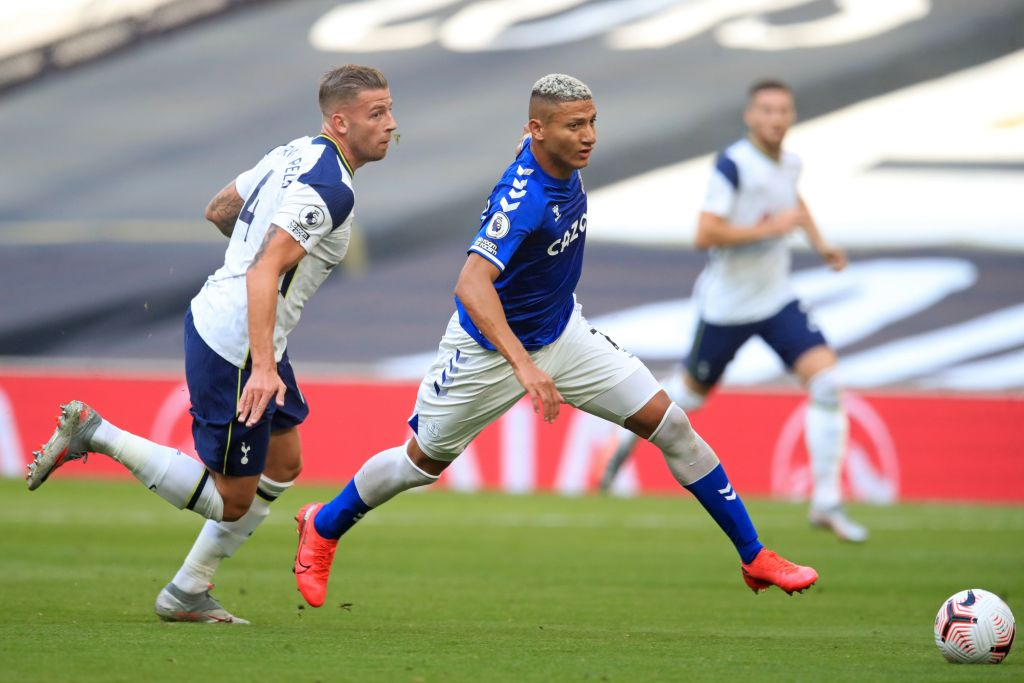 🤤 Most dribbles in a single game with a 100% success rate this season - Europe's top five leagues  🥇 Richarlison (vs Tottenham) - 11 🥈 Jack Grealish (vs West Ham) - 8 🥉 Geoffrey Kondogbia (vs Huesca) - 7