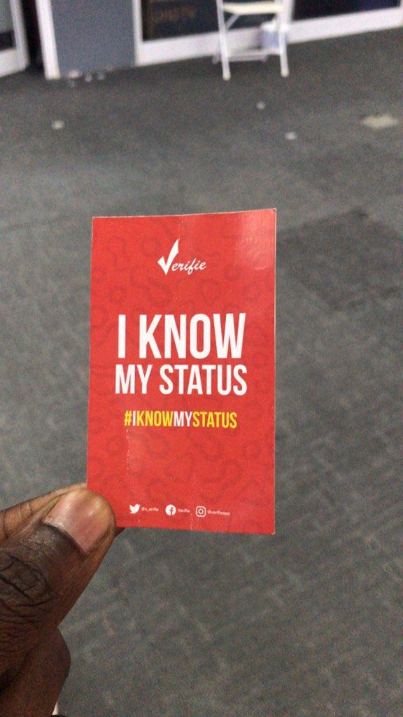 It's World AIDS Day!!! #AIDSday #iknowmystatus #WorldAIDSDay