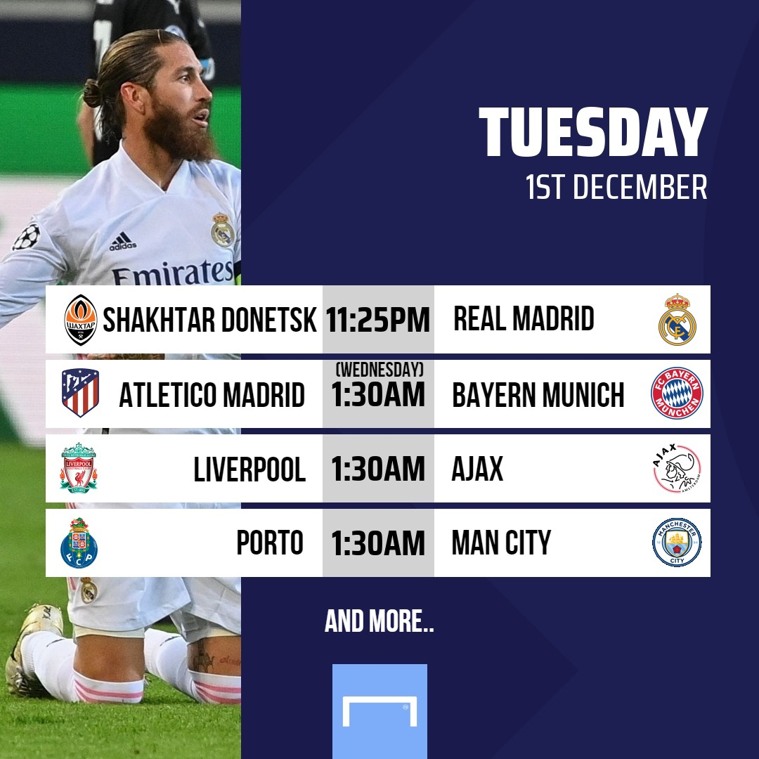 Who's up for @ChampionsLeague action tonight? 🤩  TV Guide:    #FootballOnTV #UCL