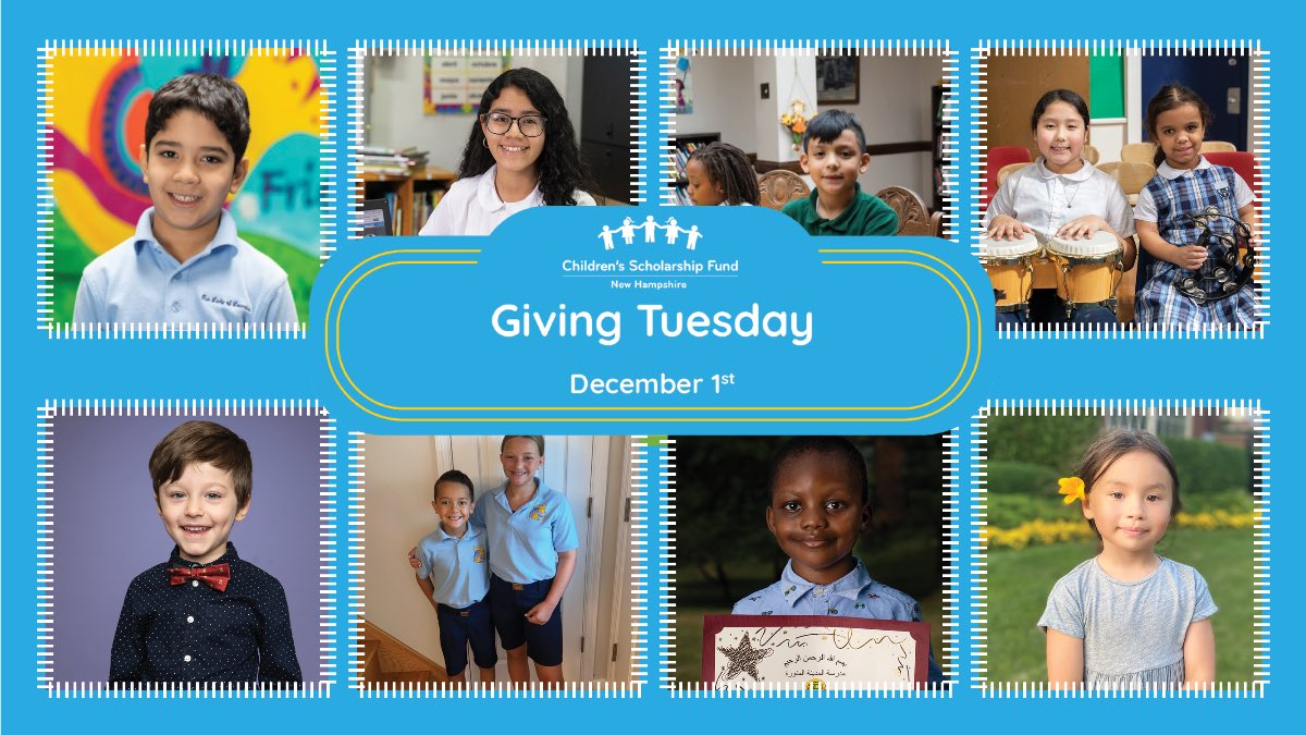 Today is Giving Tuesday! Fund one week of school for a CSF Scholar with only $55 or give any amount here: https://t.co/7IVZOagXrU