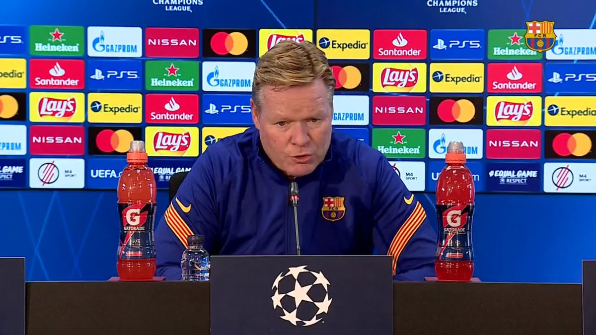 ❝We need to have confidence in them and give them opportunities.❞       — @RonaldKoeman, on the team's youngsters