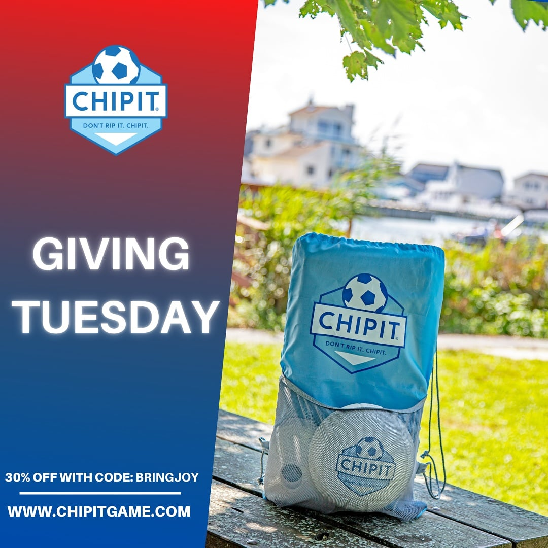 It's #GivingTuesday so let's start the  #25DaysofChristmas off right 🎅  30% OFF all products with code: BRINGJOY     #tuesdayvibe #shopsmall #onlineshopping #gifts #soccer #mlsplayoffs #fun #games