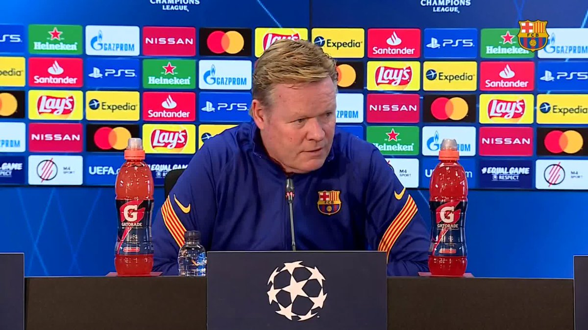❝The rest of the season, he cannot rest.❞       — @RonaldKoeman, on Leo #Messi