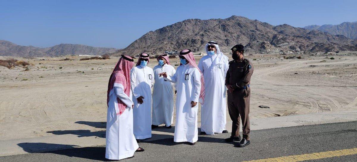 #مكه_الان | وكيل البلديات بـ #مكة يتفقَّد مسارات الأودية بـ #الشرائع