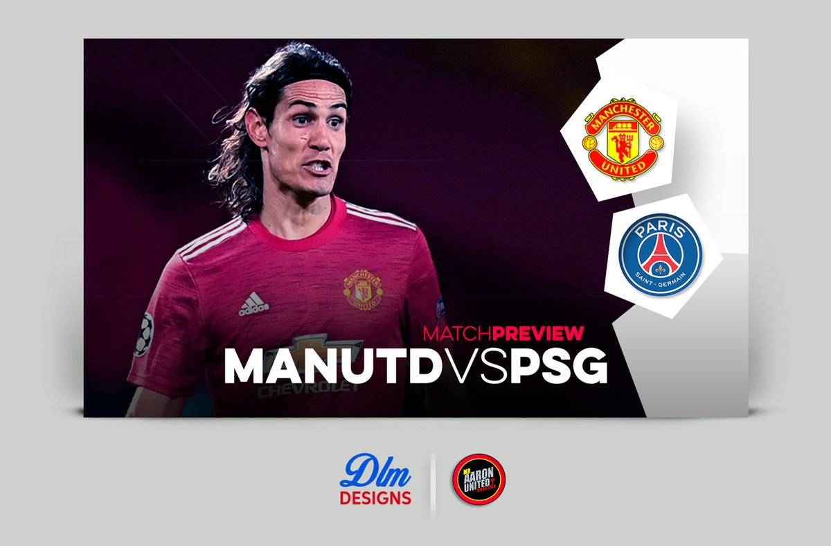New Match preview look for the champions league matches for Manchester United. It took ages thinking of the new layout but it was worth while ey?   @mraaronutd #ChampionsLeague #MUFC #MUFC_FAMILY #PSG #Cavani #GFXDesigner #GraphicDesigner #GFX #gfxneed