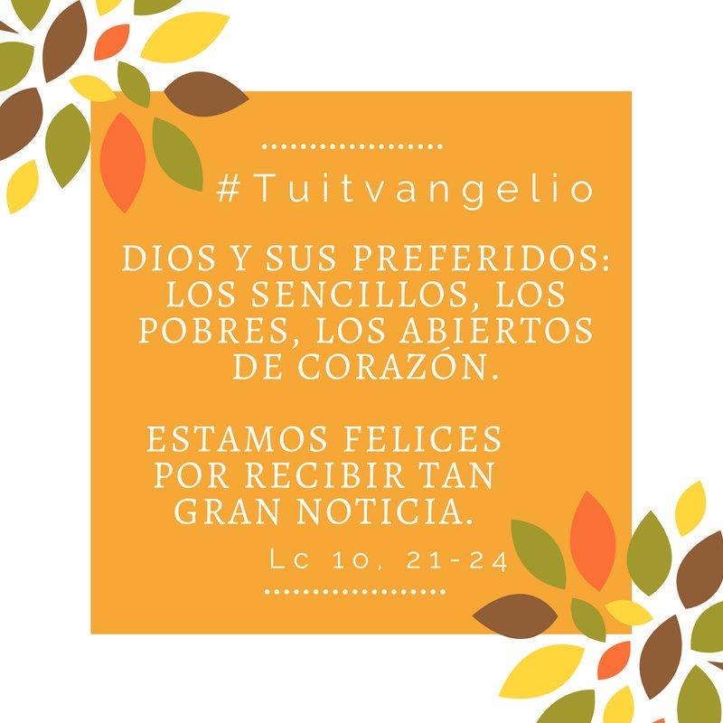 @Pontifex_es #Tuitvangelio