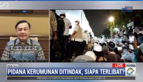 #PrimetalkMetroTV Benny Mamoto (ketua harian Kompolnas): menurut kami yang diperlukan sekarang adalah komunikasi dengan penasehat hukum tentang alasan ketidak hadiran Rizieq Shihab. #MetroTV20 streaming: