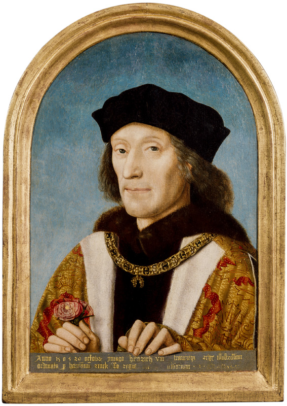 Today's #portraitoftheday is of Henry VII - the earliest painting in the National Portrait Gallerys Collection. 🎨 King Henry VII by Unknown Netherlandish artist, 1505 © National Portrait Gallery, London