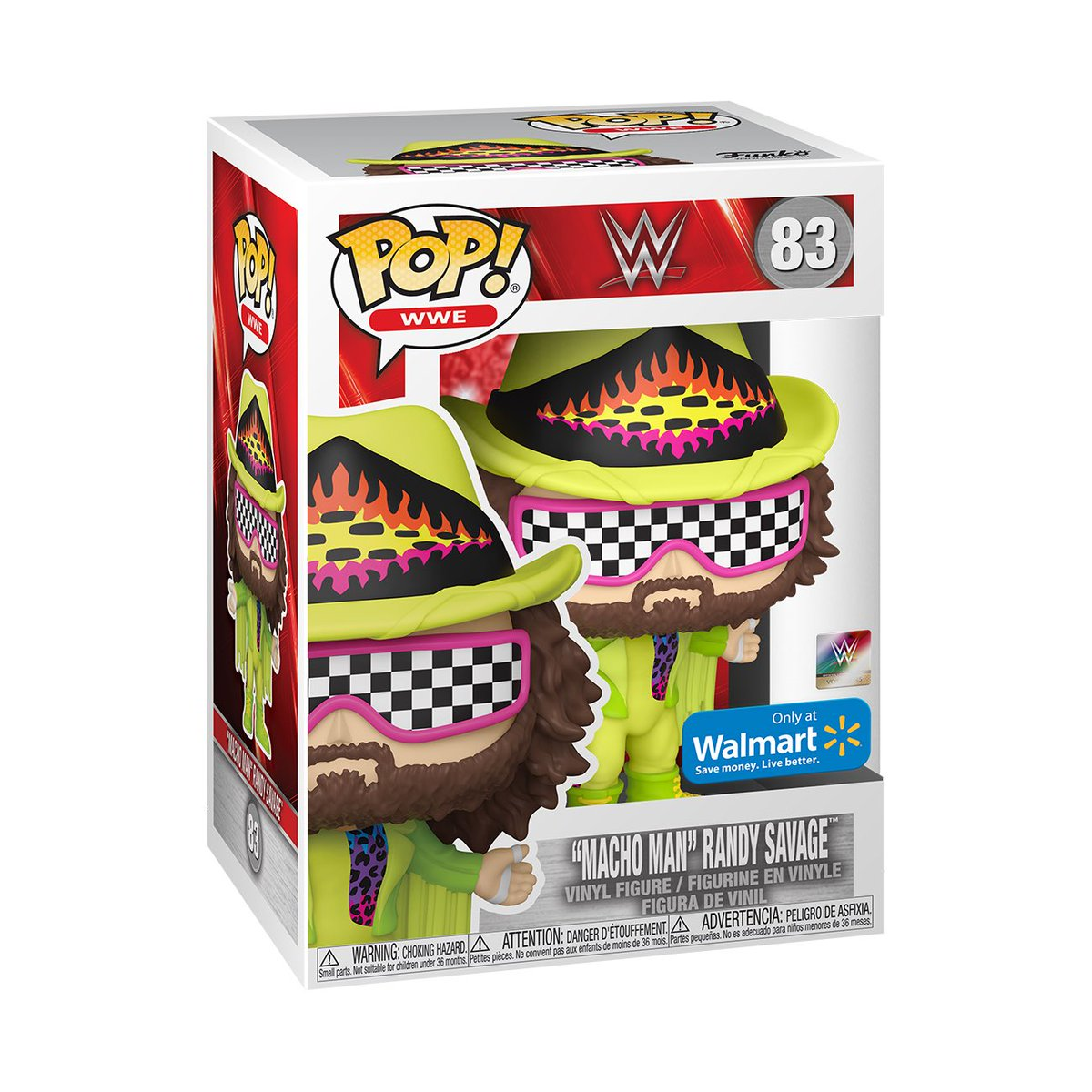 Preorder Now: Walmart Exclusive Macho Man Randy Savage! #Funko #Ad .