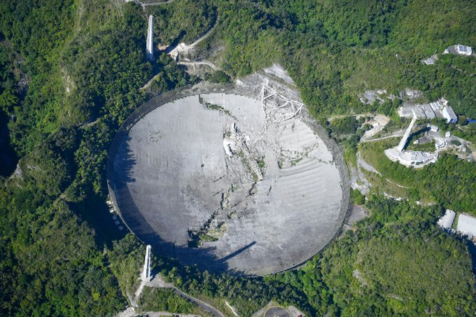 Arecibo observatory has now totally collapsed EoK1tXlXIA0zKbc?format=jpg&name=small