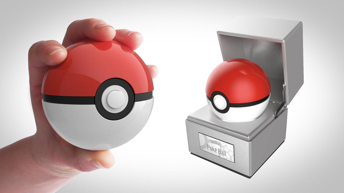 Pokemon reveals official Pokeball Replica collectibles for $100 launching in February 2021 😍  More info here 👉    #pokemon #pokeball #thewandcompany