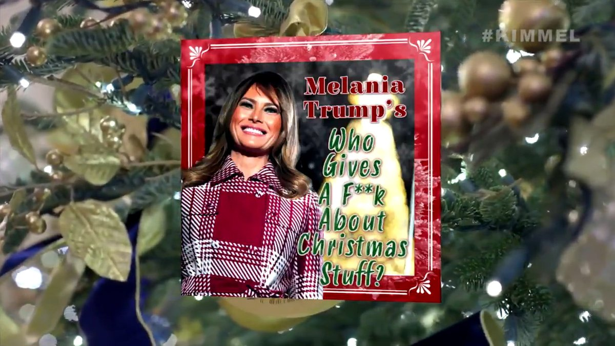 Melania hates Christmas and now you can too!