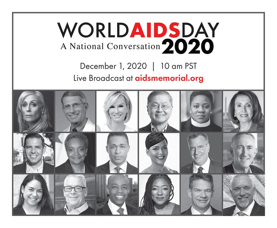 Take a listen to my convo with Chicago Mayor @LoriLightfoot, NYC Mayor @BilldeBlasio and Long Beach Mayor @RobertGarcia about #AIDS #HIV #COVID pandemics and underserved communities. #WorldAIDSDay event happening here:   @aids_memorial