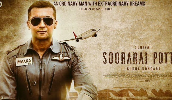 Film of the year #SooraraiPottru . What a gem 🔥.. @Suriya_offl 🙏🙏🙏 #SudhaKongara ❤️❤️❤️ @Aparnabala2 🌸.. @PrimeVideoIN .. Outstanding .. just the inspiration I needed 😭😭😭