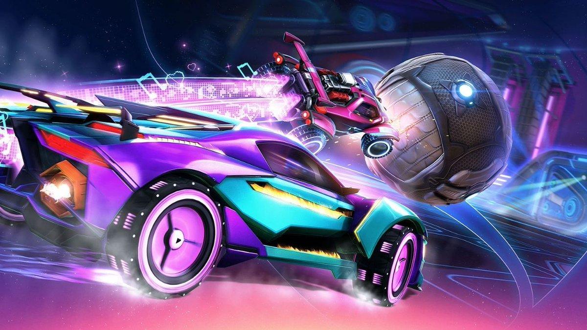 "Pulsing arenas and a slick new car headline Rocket League Season 2, arriving December 9.  Blast ""Flip Reset"" by Kaskade and WILL K: 🔊:"