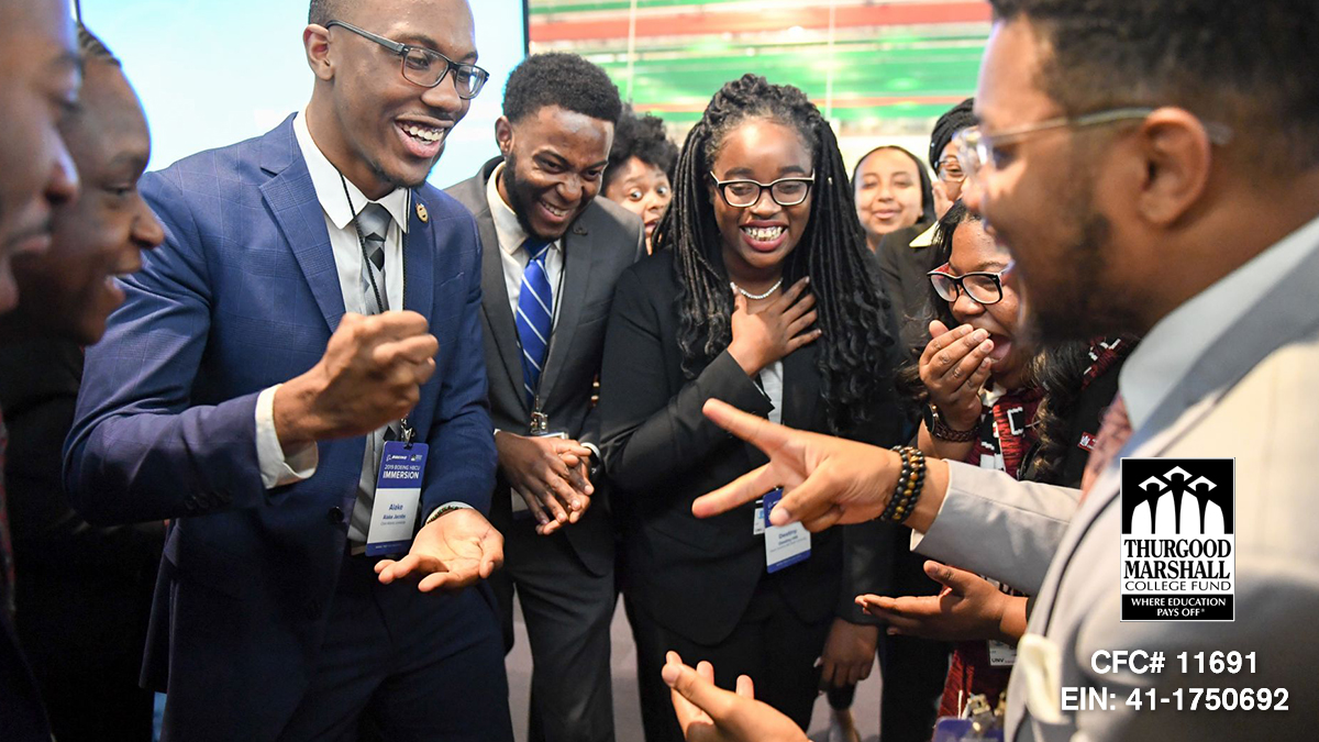 Over 70% of first year, full-time students attending @tmcf_hbcu member-schools are low-income Pell grant recipients, with some campuses reaching nearly 90%. Your workplace giving donations matter! Pledge CFC#11691 to TMCF via the @CFC.  #ShowSomeLoveCFC
