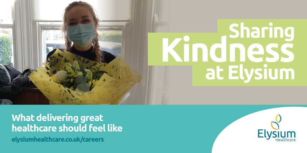 To mark #WorldKindnessDay, each site received a beautiful, bouquet of flowers to give to a member of staff who has shown hard work and commitment. Well done to Emma for receiving her flowers, your service does not go unnoticed.    #BeKind #Healthcare