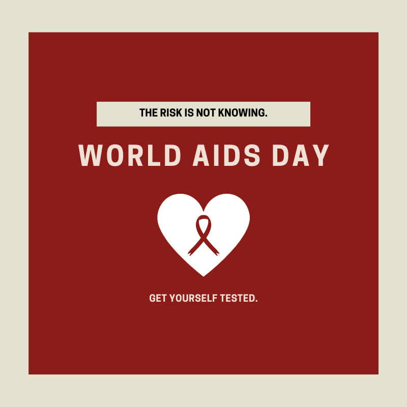 Today is #WorldAIDSDay! Join us as we unite to help those with #HIV receive treatment. We also remember those who have lost their lives to HIV-related diseases.