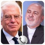 Image for the Tweet beginning: #Iran's Foreign Minister Javad Zarif