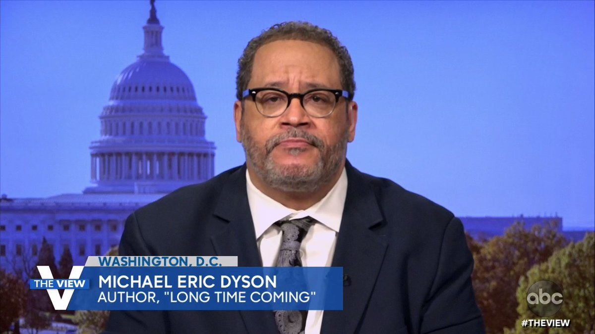""".@MichaelEDyson reacts to Pres.-elect Joe Biden acknowledging the impact Black voters had on his victory: """"What president in American history has explicitly articulated his debt, what he owes to African-American people because he recognizes we had his back, now he has ours."""""""
