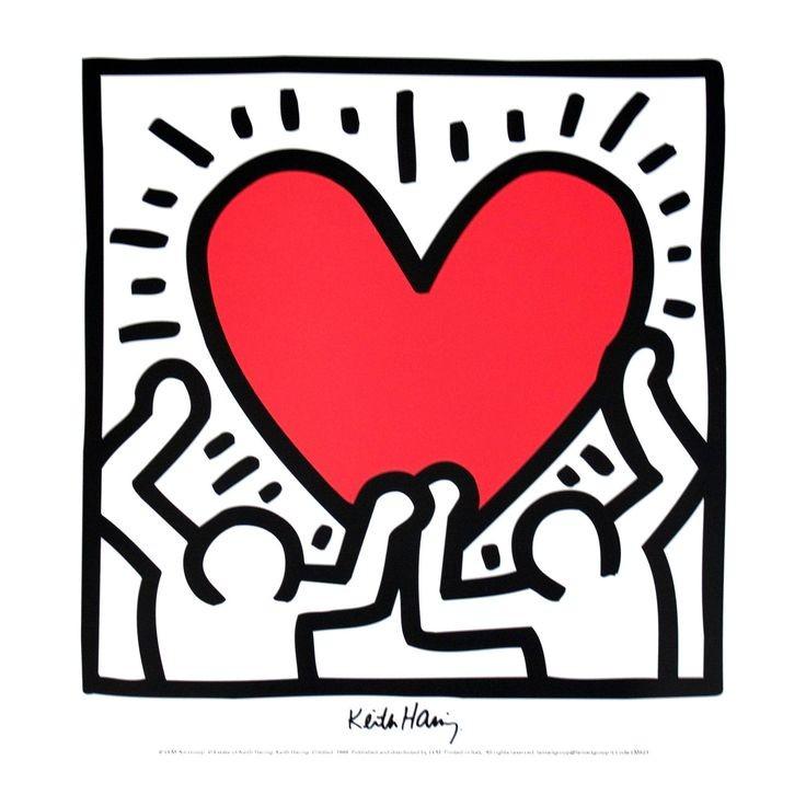 Keith Haring - Untitled (1988) #WorldAIDSDay