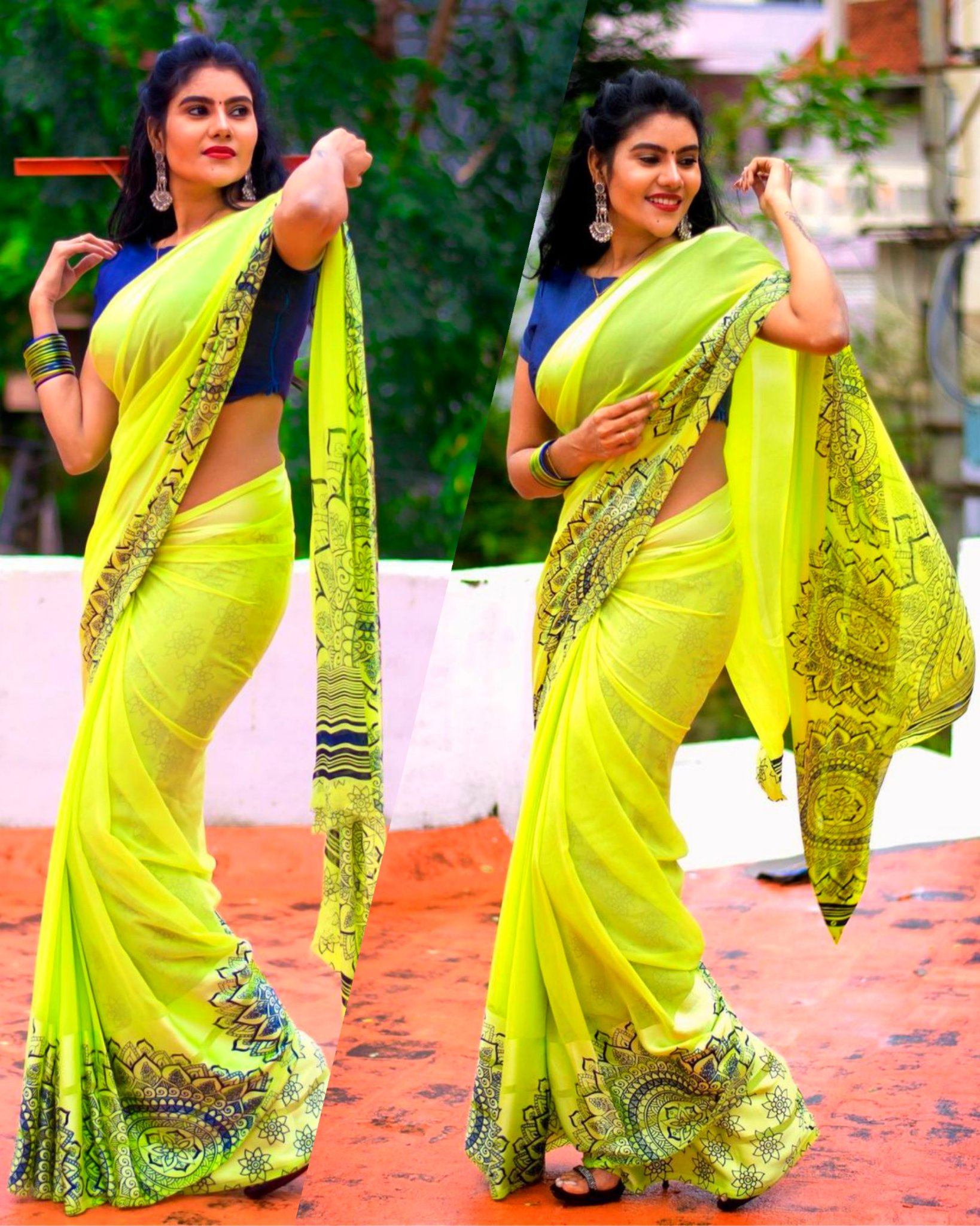 Tamil Serial Actor #Nivisha 💙💚 #Pics #TVSerial #TamilActress #Photoshoot #SelfieMoonji