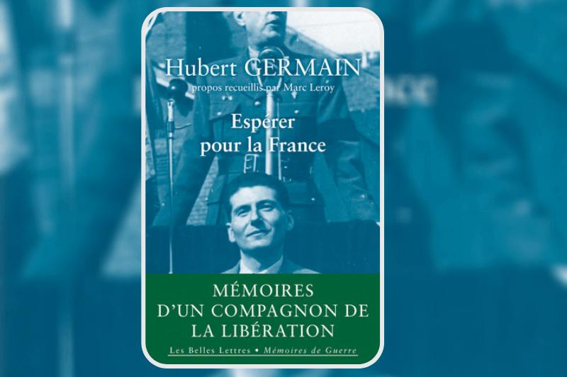 #PEB2020 📚 Marc Leroy présente, de manière concise, la vie très riche de l'un des derniers compagnons de la Libération @O2LaLiberation : Hubert Germain.
