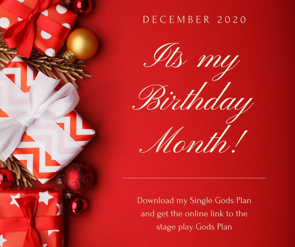 Birthday Special --- Download my new single Gods plan and get a link to see my hit stage play Gods Plan!! You must tag me in your purchase!!!   Purchase Gods Plan Get link to Stage play Gods Plan Tag me #mondaymotivation #Jamit #PodcastNetwork #PodcastMovement #AfricanPodcastNetw