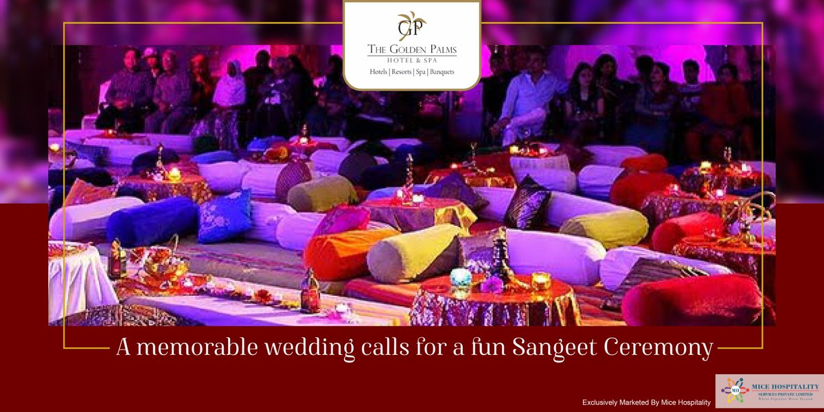 Exclusively Marketed by Mice Hospitality Services Pvt. Ltd For more information, visit:   #GoldenPalmsHotelAndSpa #WeddingSeason #Wedding #SpecialPackage #Packages #FestiveSeason #Festive #EnvironmentFriendly #StaySafe #Luxuryresort #LuxuriousStay