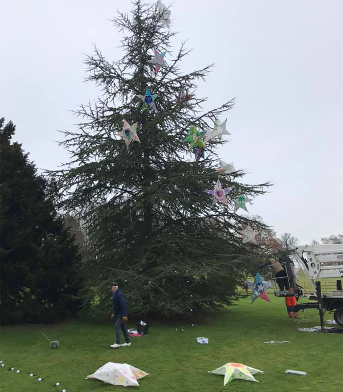 The team on site have been getting into the festive spirit transforming the Grounds with lights, hand made decorations and installing our giant advent calendar  #ComptonVerney #ChristmasAtCV #DiscoverYourDoorstep #ItsBeginningToLookALotLikeChristmas #FestiveVibes #BehindTheScenes