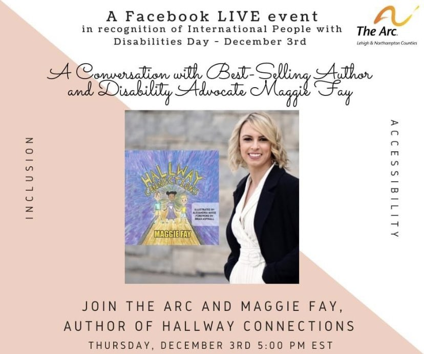Looking forwarding to this Thurs at 5! #autism #FacebookLive #author #teacher #inclusion