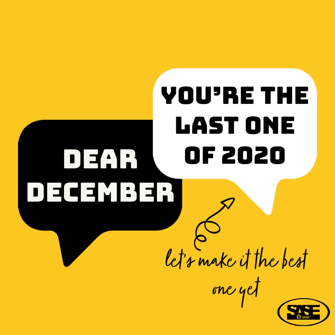 Dear December, let's make this the best one yet!   #DearDecember #TuesdayMotivations #December1st