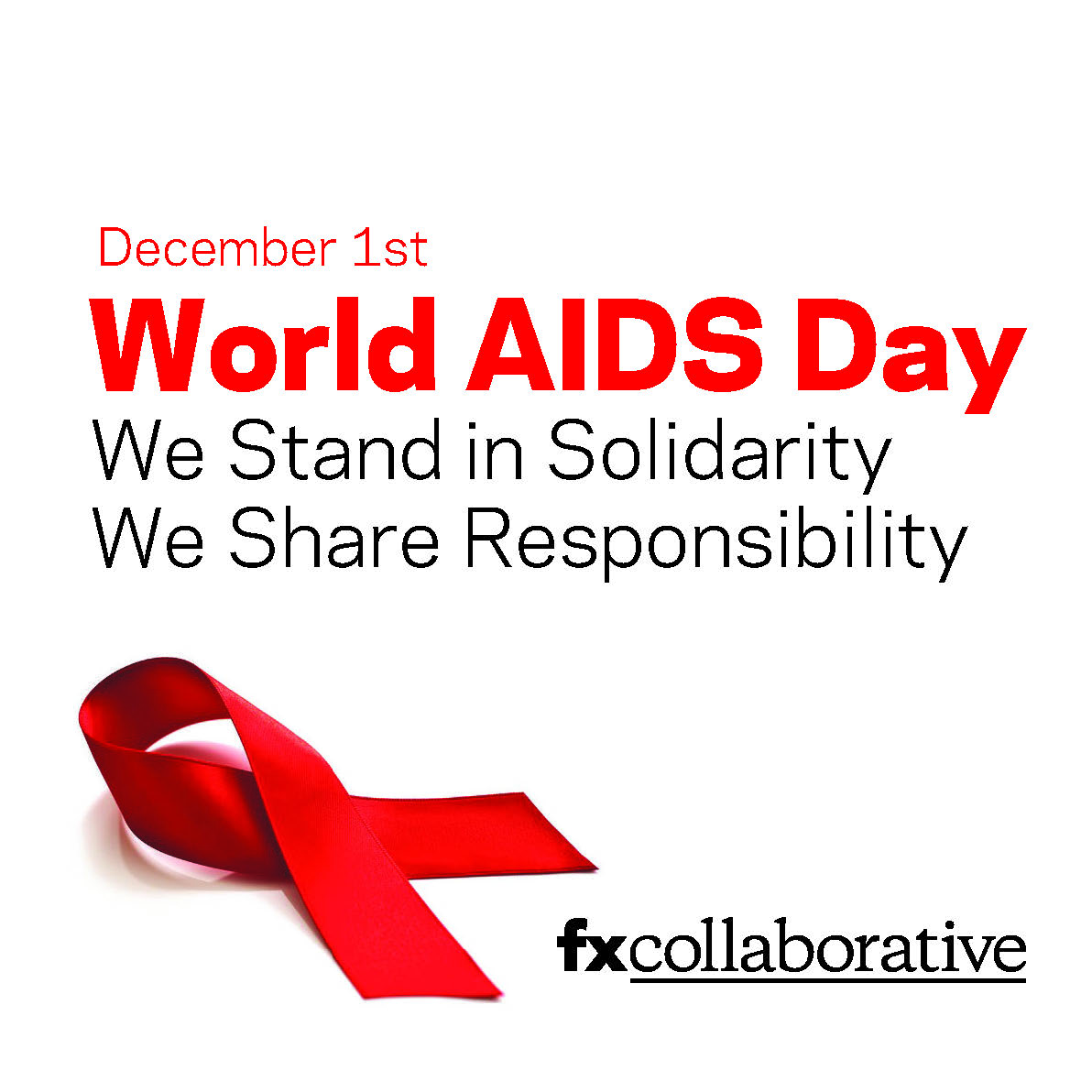 .@FXCollaborative and FXOne commemorate #WorldAIDSDay 2020, and reaffirm our pledge to fighting ignorance.