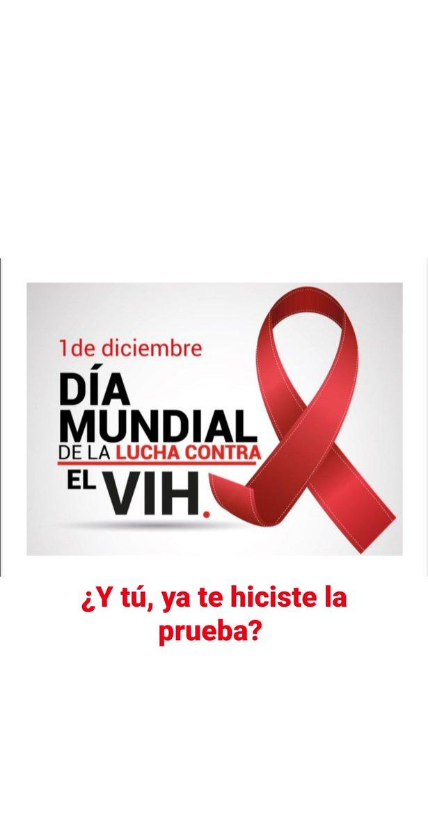 #1Diciembre #WorldAIDSDay #DiaMundialDeLaLuchaContraElSida Hacernos la prueba del VIH es la forma consciente de prevenir y combatir al VIH/SIDA  ¿Y tú ya te hiciste la prueba?