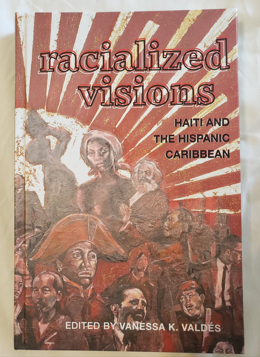 📣📣📣 #PubDay We congratulate our director, #VanessaKValdés, on her latest, Racialized Visions. An edited collection with three of her essays, it examines the critical importance of Haiti in the region. Out today!! 🎊🎉🎊 cc:  @CityCollegeNY @CCNYHumArts @cunyhsi @SUNYPress