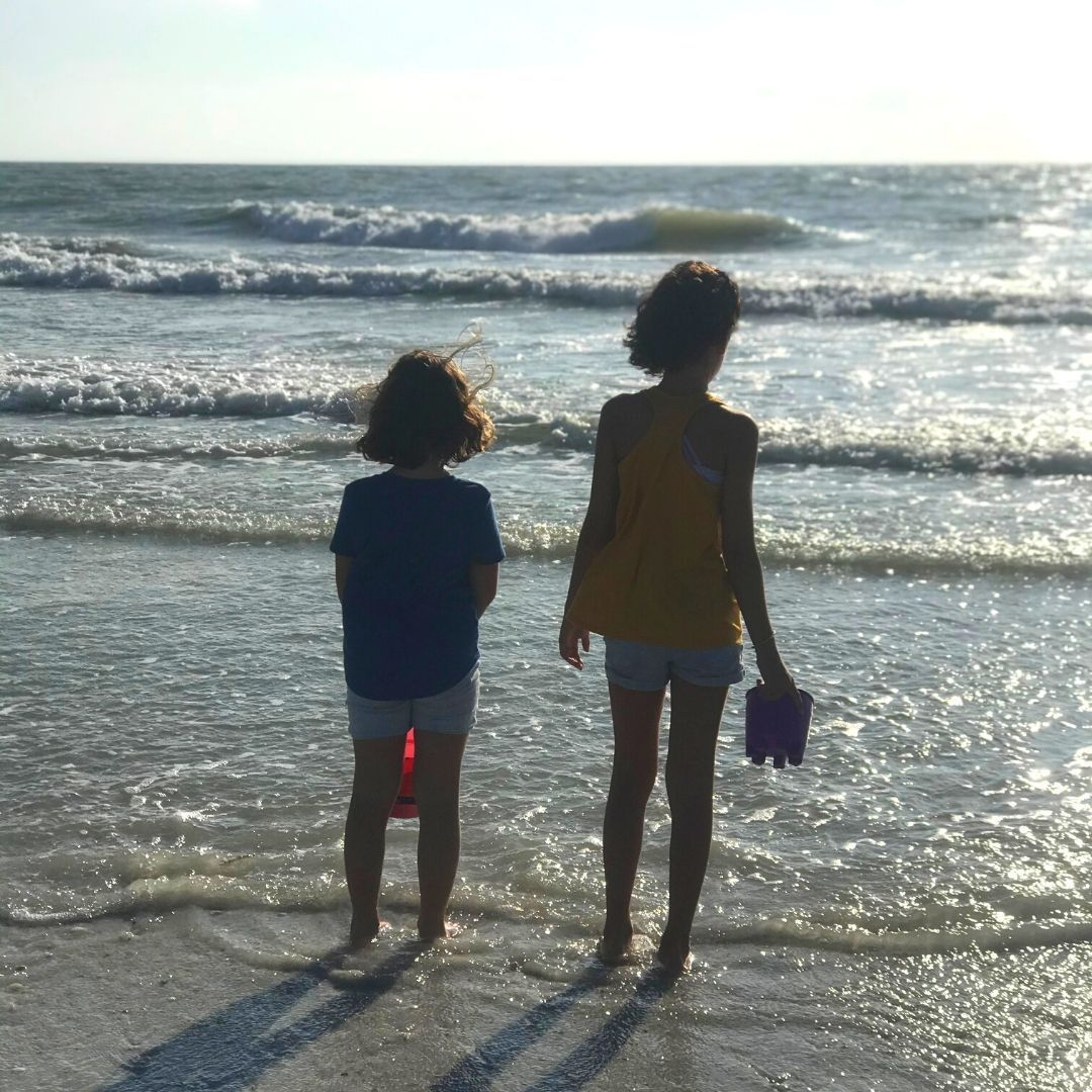 Ahhhhh… the great wide open.  Now who goes first?  #lovethebeach #happyplace #daddysgirls #girldad #familytime #daddysgirl #dadlife #familyiseverything #familylove #dadliferules #dadlifeisthebestlife #beachvibes