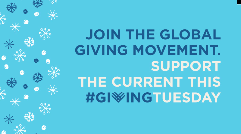 Today is #GivingTuesday, which is about getting involved in an amazing global movement on a local level. Support the station that brings you music discovery & hand-picked playlists with a contribution to The Current. Get into the #GivingTuesday spirit at thecurrent.org
