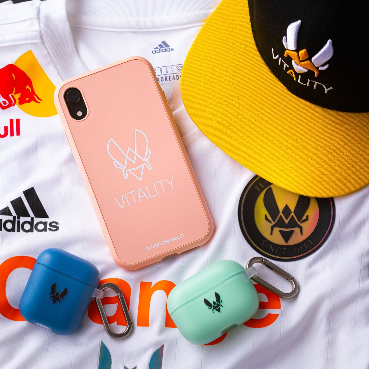 Team Vitality - ❌Stop scrolling ❌ Is your phone equipped with the Vitality X @GetRhinoShield protection? 🧐   If not, there is always 10% with the code 'Vitality'  🏷️