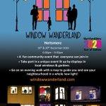 Image for the Tweet beginning: Window Wanderland is a fun