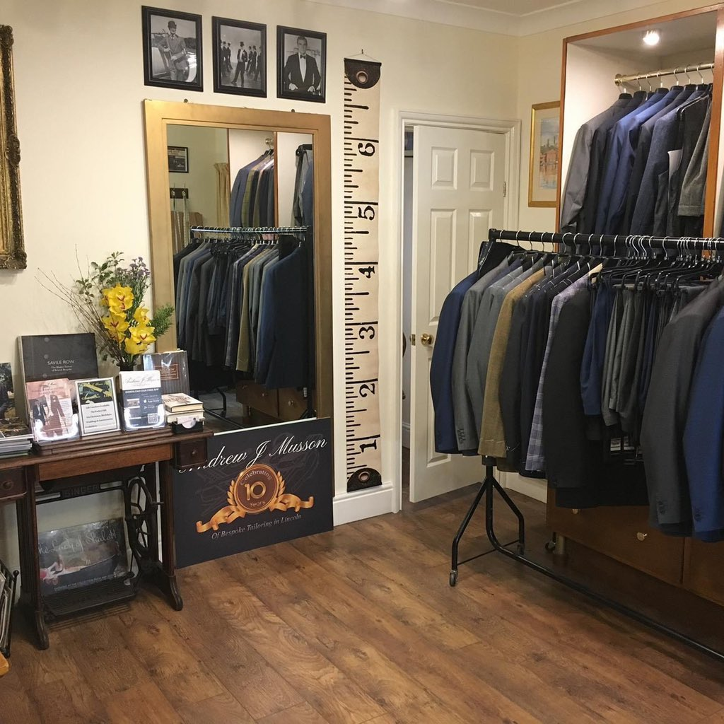 We are really delighted to be back open again from tomorrow morning and looking forward to welcoming new & existing customers into our shop & showroom for all sartorial needs! #lincoln #lincolnshire #happyplace