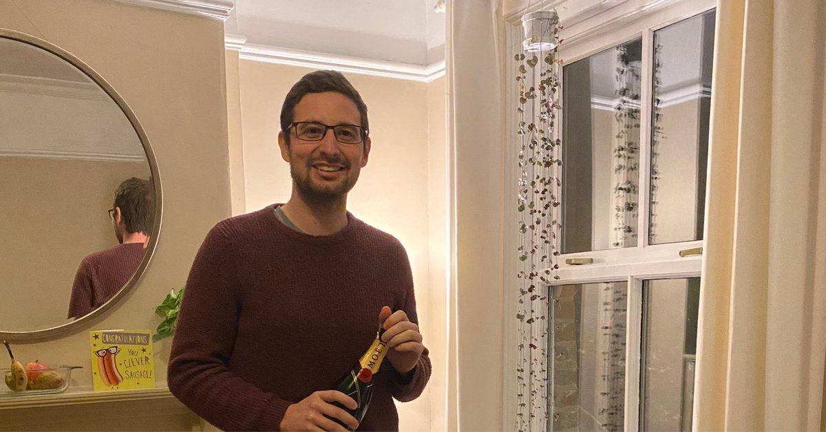 Brilliant news, congratulations, Matt!