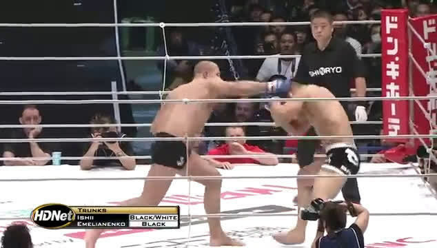 Fedor drops Ishii with a rapid-fire 3 piece Follow Us on Instagram :    #UFCvegas14 #UFC255 #UFCFightnight #MMA #UFC