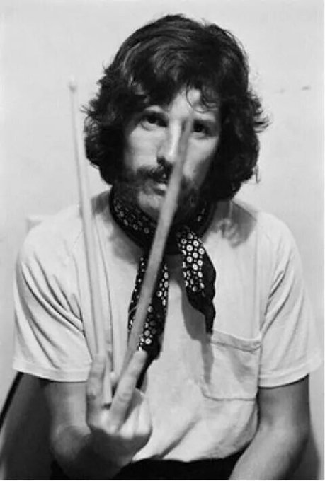 Happy 76th birthday to John Densmore - drummer withThe Doors.