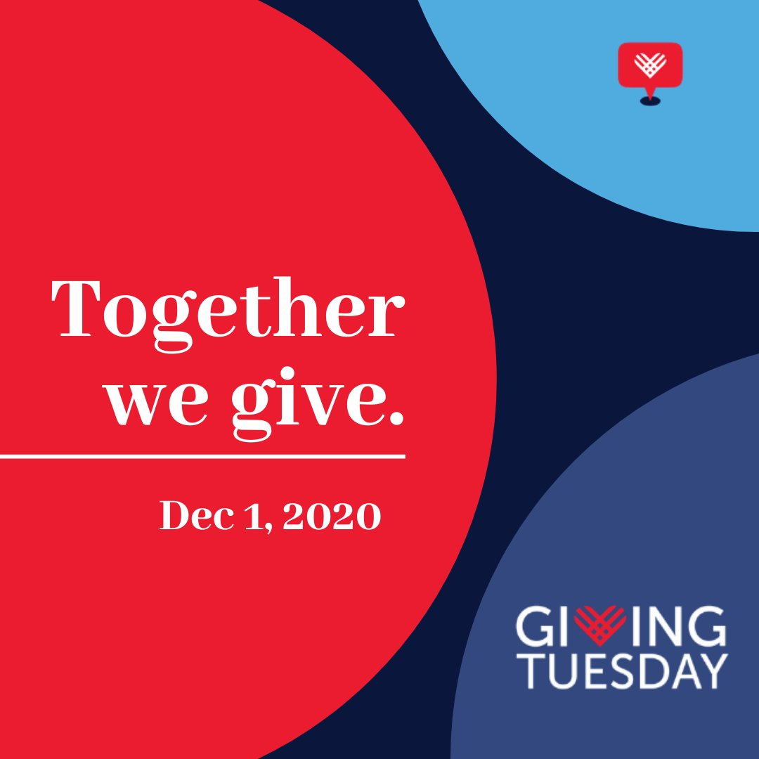 It's @GivingTuesday! We're celebrating by committing to raise $50,000 this holiday season. Will you be one of our #GivingTuesday donors?! Donate through the link in our bio!