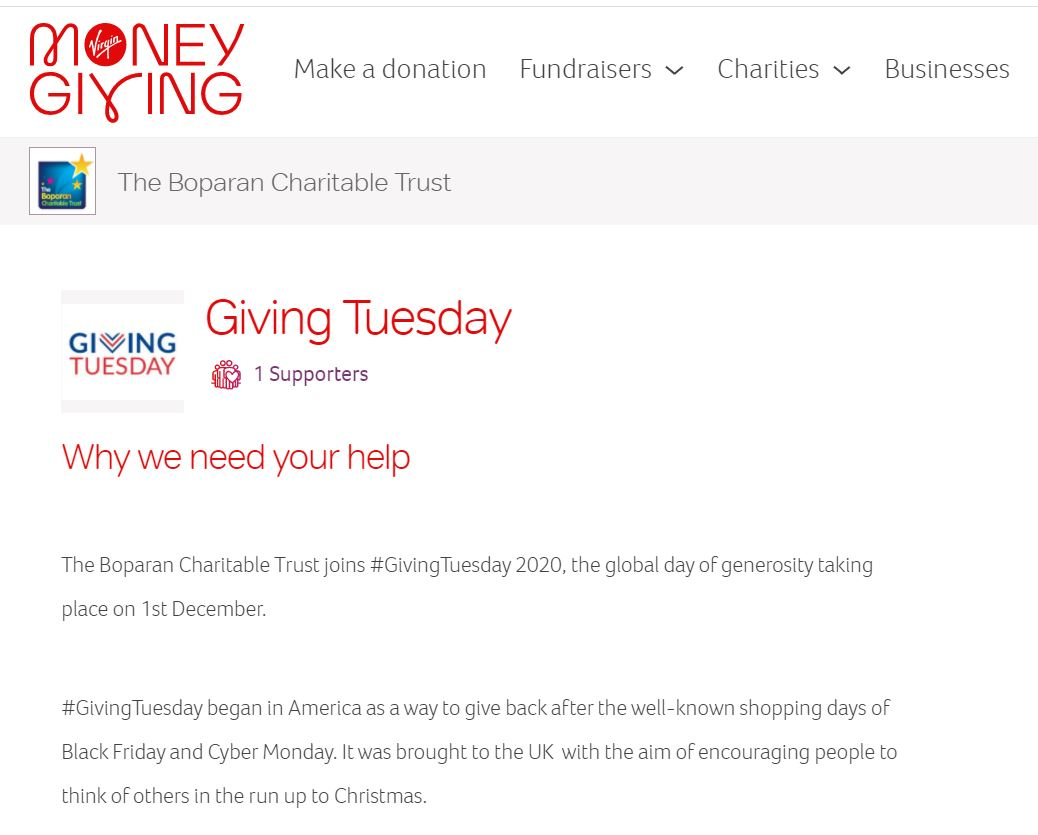 The easiest way to #GiveBack2020 is to make a donation.   We have a dedicated @VMGiving page set up so you can donate at a click of a button through the secure site!     #GivingTuesday #Donation