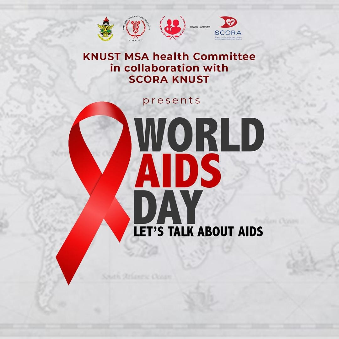 SCORA KNUST collaborated with @knustmsa Health Committee to write an article to commemorate World Aids Day.  The article has been published on many major websites in Ghana to remind and educate people on HIV/AIDS.  Take a read and RT!  @JoyFmNews •