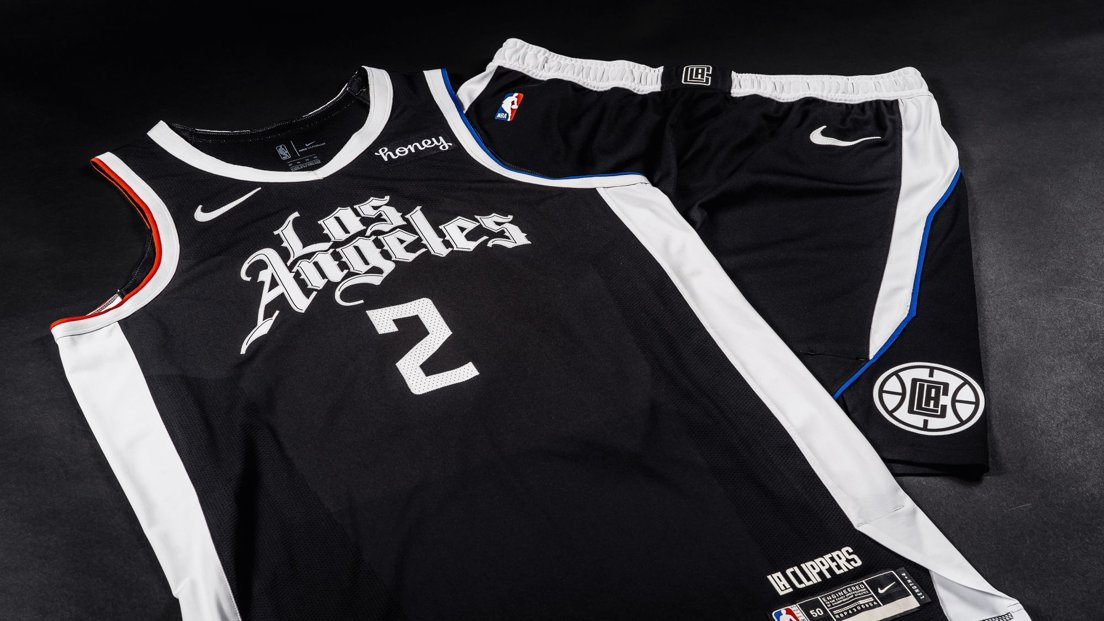 """The Clippers unveiled this season's Nike City Edition uniforms with the 'Los Angeles' wordmark used last season and designed by artist Mister Cartoon. The Clippers and Cartoon will also host """"Make Your Mark"""" digital... https://t.co/Zm3RjeVSJM https://t.co/xzVHc2buxF"""