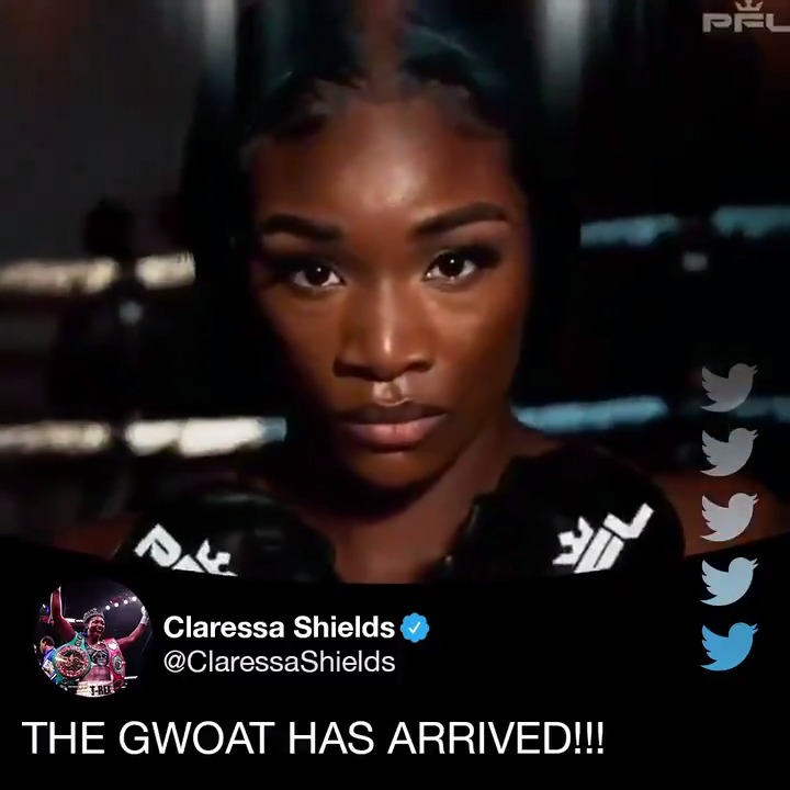 The MMA world will get acquainted with the GWOAT in 2021 🐐   (via @Claressashields, @ProFightLeague)